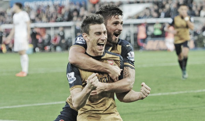 Olivier Giroud and Laurent Koscielny given month off