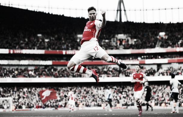 Arsenal 3-0 West Ham United: Gunners march on towards second spot