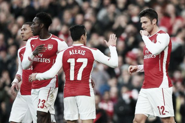 Wenger: Giroud is our main man