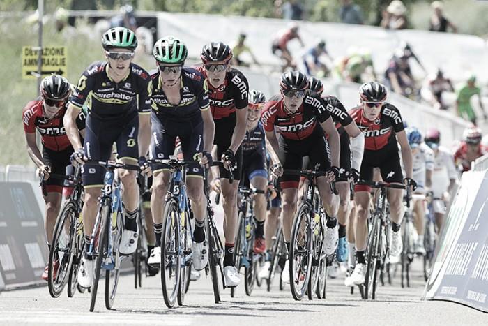 Giro U23 - La presentazione della 6a tappa: Francavilla al Mare-Casalincontrada, arrivo in salita