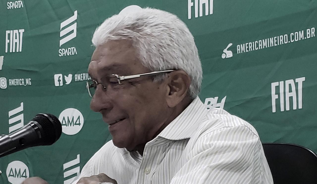 Givanildo pede 'pés no chão' para América-MG manter bom trabalho no Estadual
