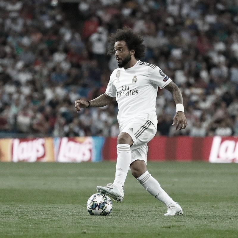 Com nova lesão, Marcelo vira desfalque no Real Madrid