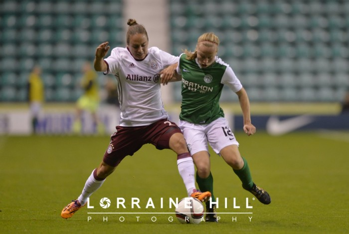 Hibernian 0-6 Bayern Munich - UEFA Womens' Champions League: Bayern outclass a committed Hibs side