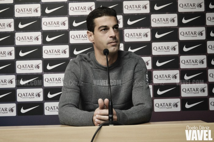 """Gerard López: """"Vamos partido a partido"""""""