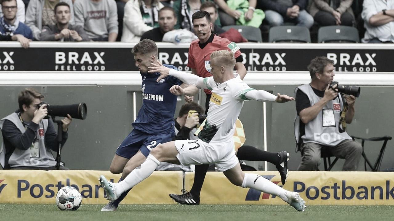 Schalke 04 eBorussia Mönchengladbachempatam sem gols em estreia na Bundesliga