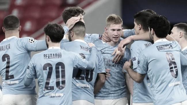 Em jogo de ataque contra defesa, Manchester City elimina Mönchengladbach e avança às quartas da Champions