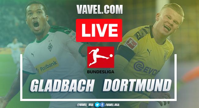 Goals and Highlights: Monchengladbach 1-2 Dortmund in 2020 Bundesliga