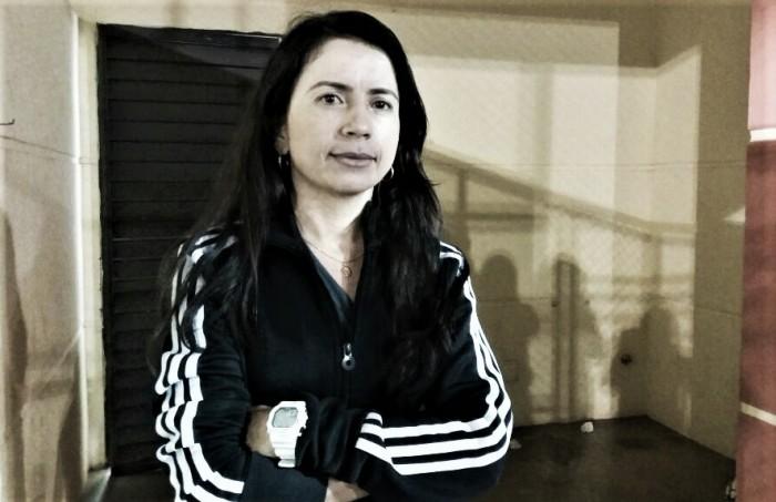 """Gleide Maria, treinadora do Botafogo-PB, avalia empate com América-MG: """"Fomos na raça"""""""