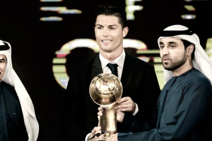 Fernando Santos é Treinador do Ano — Globe Soccer Award