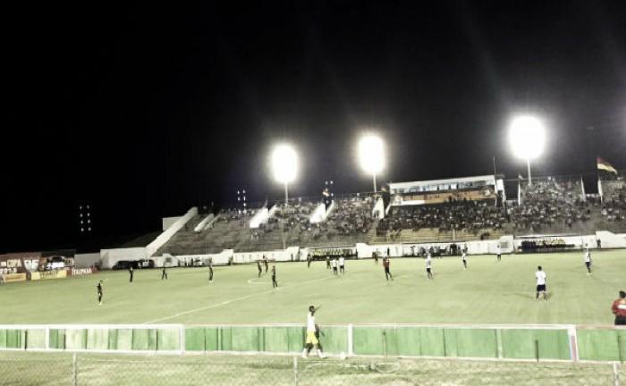 Globo-RN e Bahia falham na pontaria e empatam sem gols