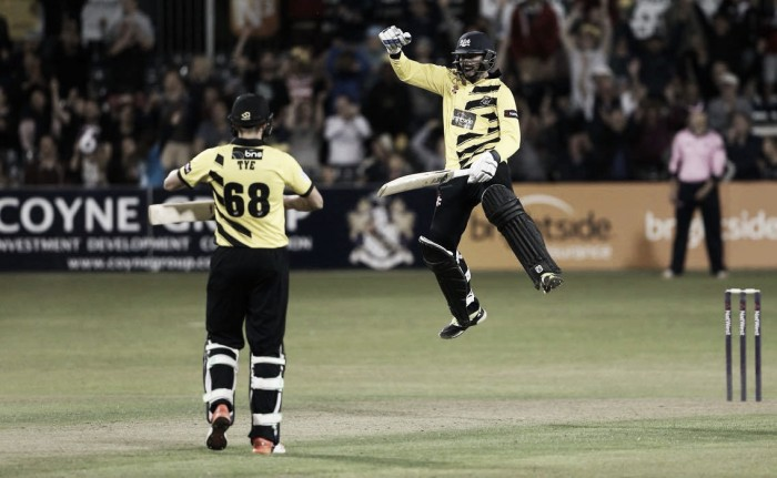 T20 Blast group stages wrapped-up as line-up for quarter-finals complete