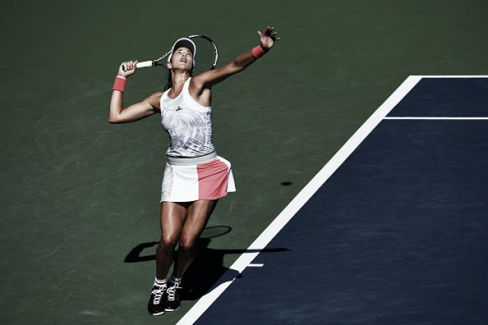 US Open 2016 - WTA Day 1 round-up: Muguruza battles back to reach second round