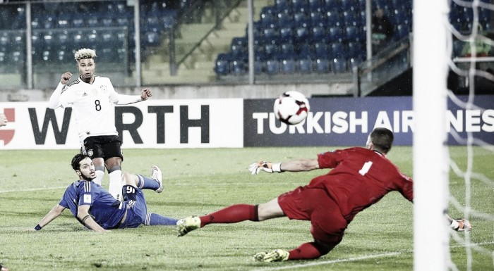 Com hat-trick de Gnabry, Alemanha humilha San Marino pelas Eliminatórias