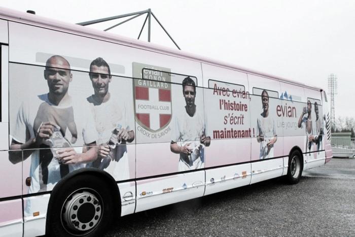 Com problemas financeiros, Evian rejeita disputar a 4ª divisão do futebol francês