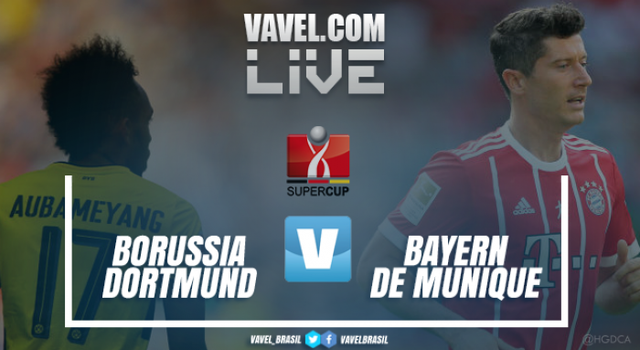 Resultado Borussia Dortmund x Bayern de Munique (2-2) na Supercopa da Alemanha