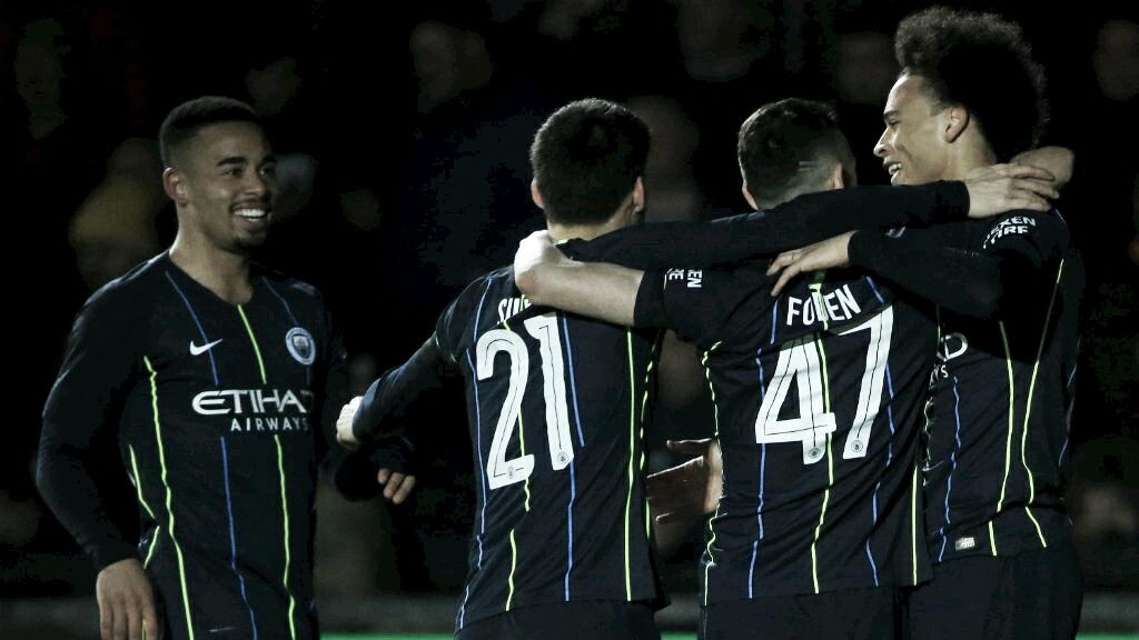 Manchester City bate Newport fora de casa e avança na FA Cup
