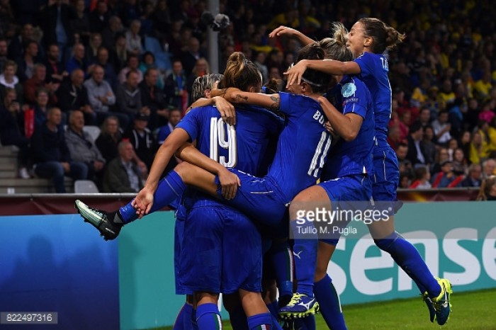 Euro 2017: Sweden 2-3 Italy - Azzurre crash out of tournament with a win