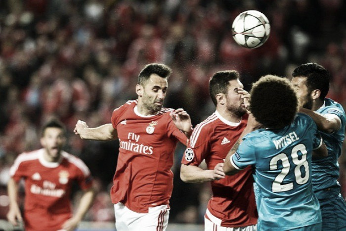 Benfica 1-0 Zenit St. Petersburg: Jonas strikes at the death to give hosts a first leg lead