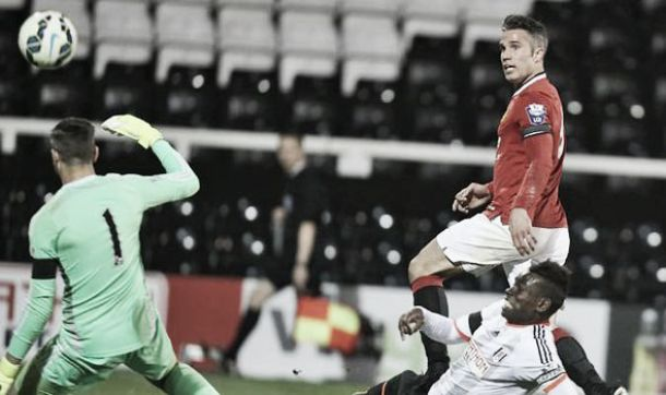 Fulham U21s 1-4 Manchester United U21s: Van Persie and Rothwell secure victory for Reds