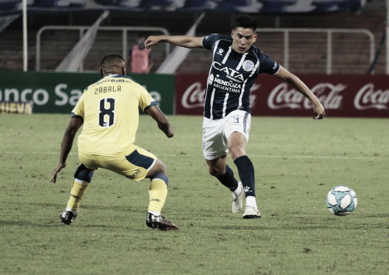 La sólida actuación de Leonel González no alcanzó para salvar a un Godoy Cruz que no ve luz en el camino. Foto: Prensa Godoy Cruz.