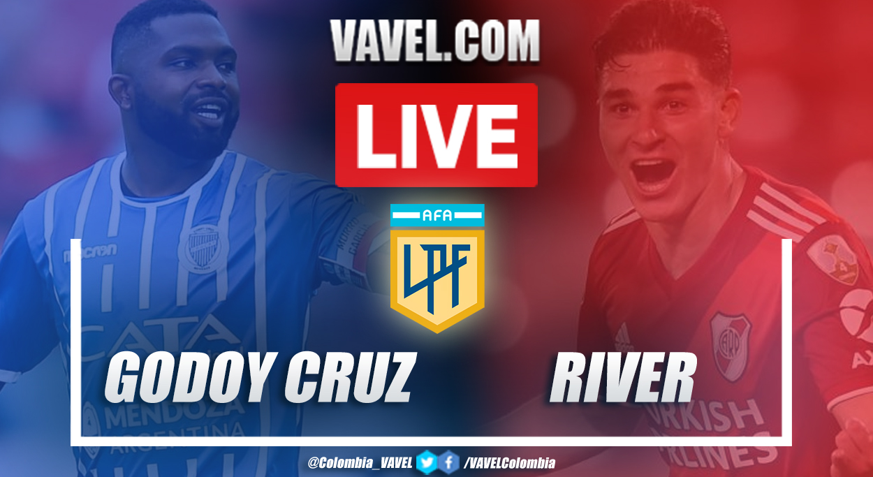 Resumen: Godoy Cruz vs River (0-1) por Copa de la Liga Profesional