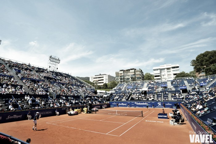 Confirmados los tenistas que participarán en la fase previa del Godó