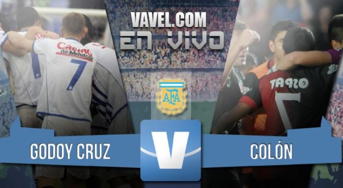 Godoy Cruz 4 - 1 Colón: goleada tombina