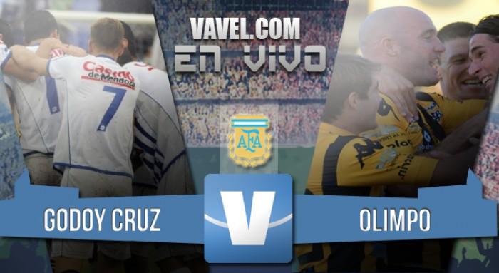 Resultado Godoy Cruz 1-0 Olimpo en el Torneo de Transición 2016