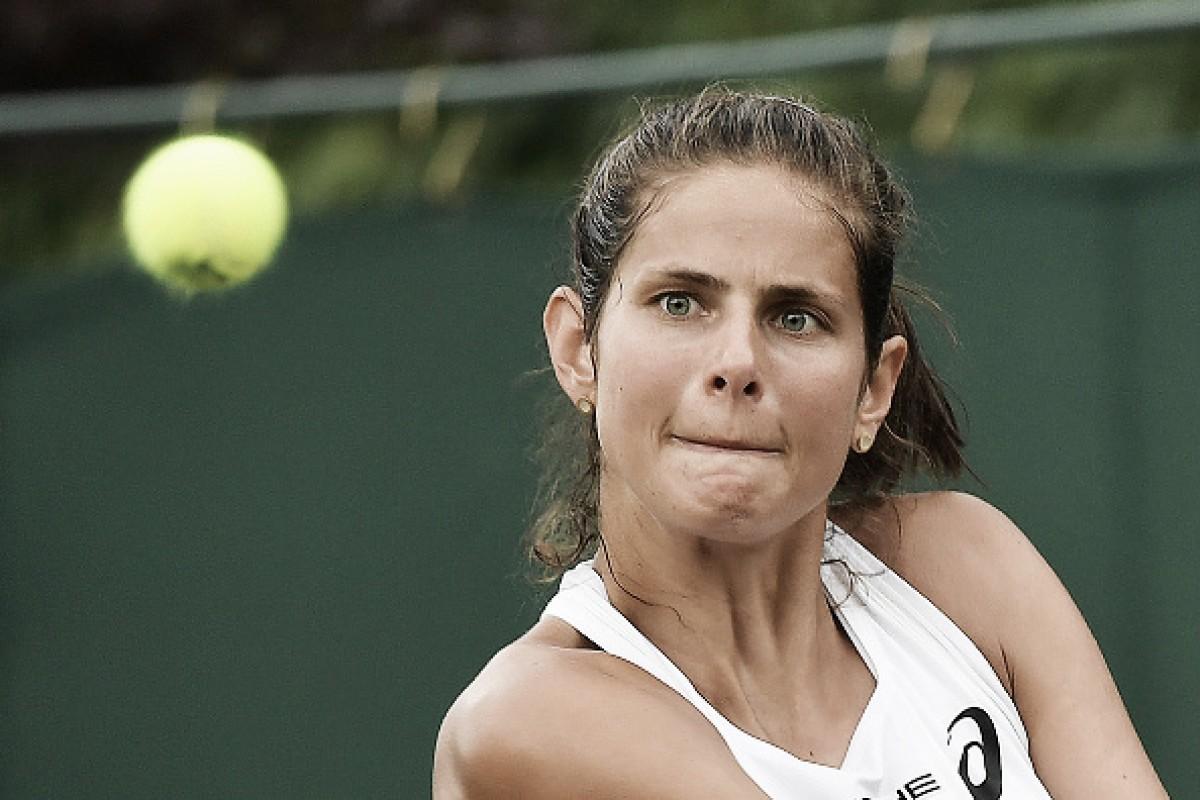 Goerges sofre contra estreante Lapko, mas consegue vaga na terceira rodada de Wimbledon