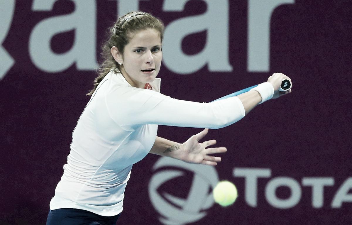 Goerges despacha Tomljanovic em sua primeira partida em Doha