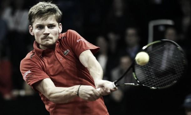 Final da Copa Davis: Goffin vira jogo, vence no quinto set e marca o primeiro ponto da Bélgica
