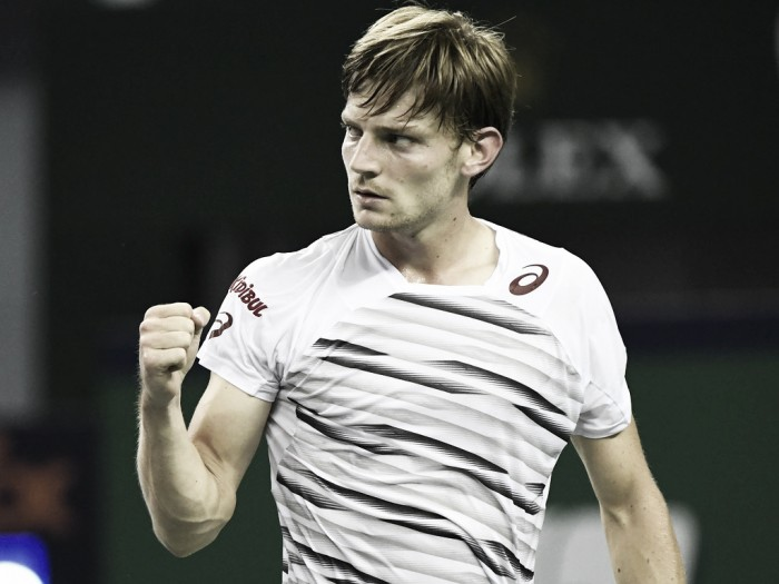 ATP Paris: David Goffin keeps London dream alive with win over Nicolas Mahut