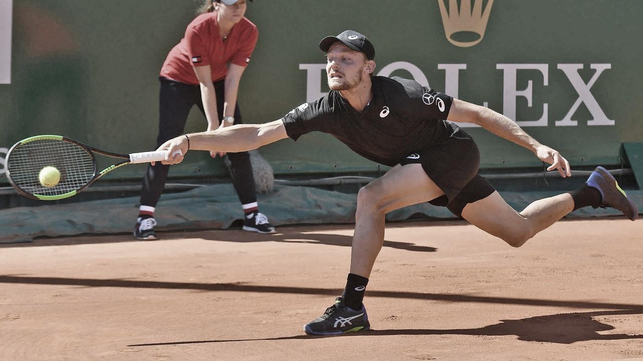 Goffin estreia em grande estilo contra Andreozzi no Masters 1000 de Monte Carlo
