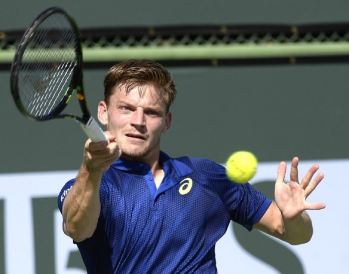 ATP Indian Wells: David Goffin Overcomes Poor First Set In Win Over Guido Pella