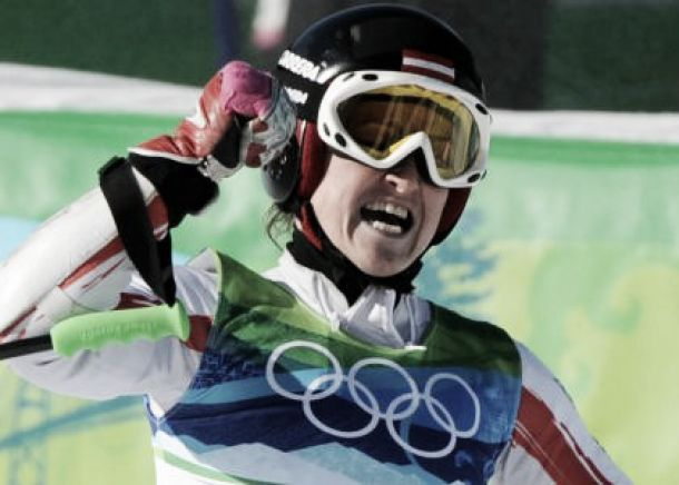 Elisabeth Goergl ancora sul podio: suo il Super G in Val d'Isere
