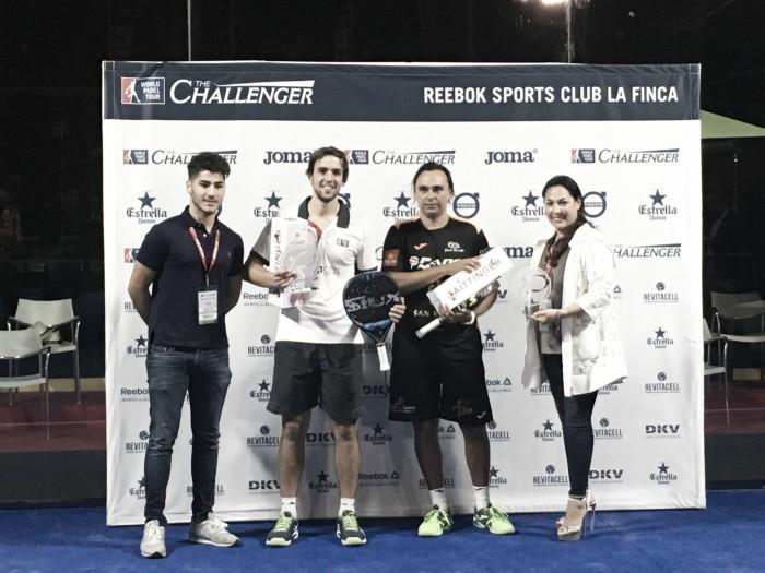 Godo Díaz y Luciano Capra campeones del Challenger La Finca