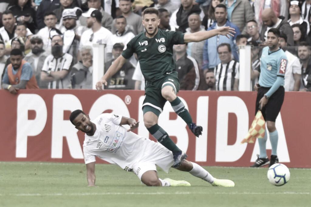 Após goleada no primeiro turno, Goías e Santos se enfrentam no Serra Dourada