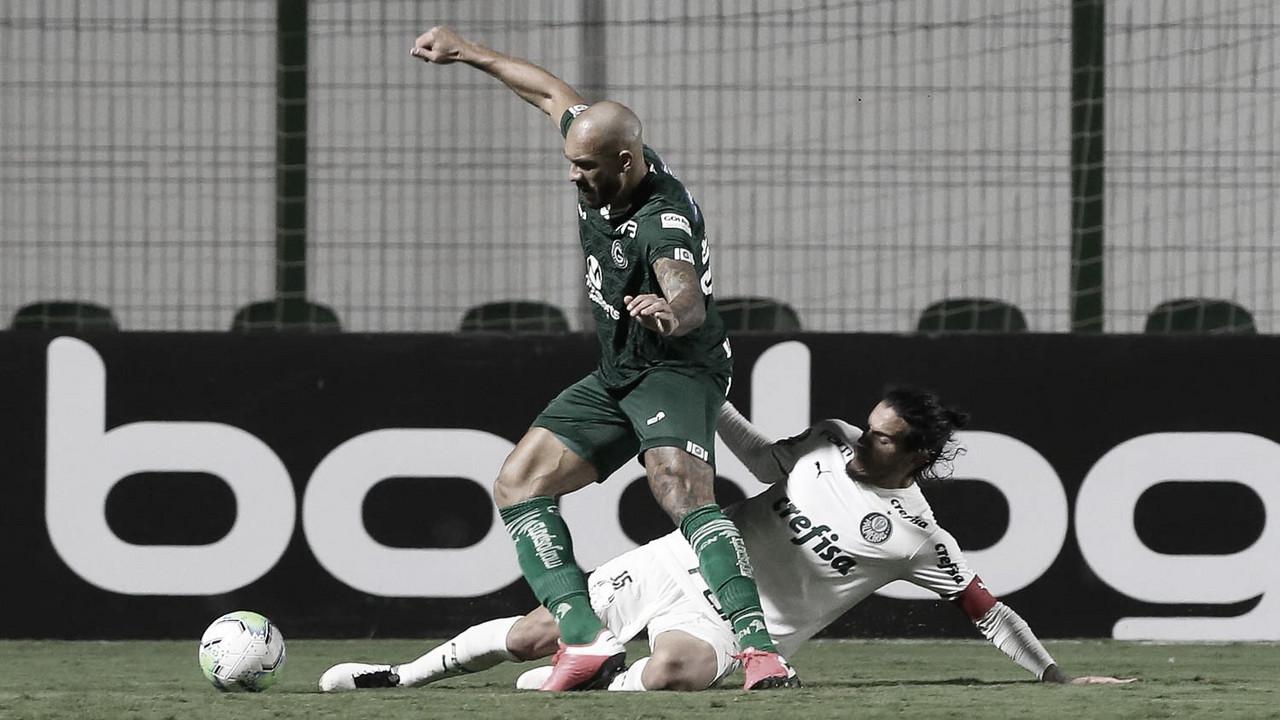 Golaço no fim dá vitória ao Goiás sobre esfacelado Palmeiras