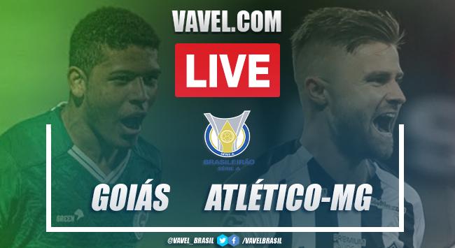 Gols e melhores momentos de Goiás 1x0 Atlético-MG pelo Campeonato Brasileiro