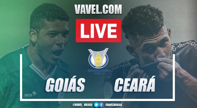 Gols e melhores momentos de Goiás 0x4 Ceará pelo Campeonato Brasileiro