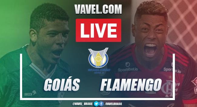 Gols e melhores momentos Goiás 0 x 3 Flamengo pelo Campeonato Brasileiro