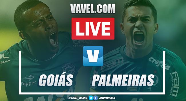 Gols e melhores momentos para Goiás 1x2 Palmeiras pelo Brasileirão 2019