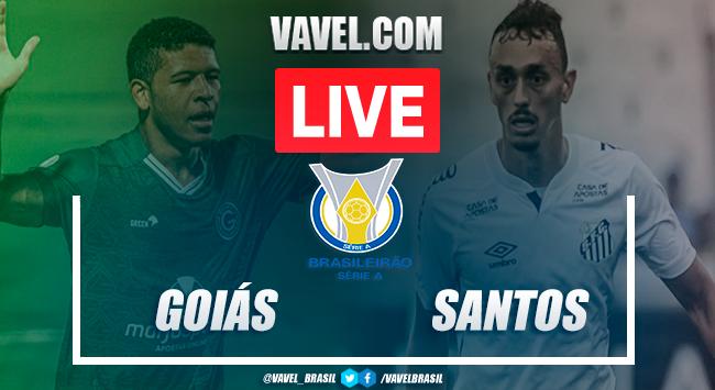 Gols e melhores momentos de Goiás 2 x 3 Santos pelo Campeonato Brasileiro 2020