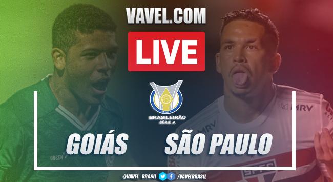 Gols e melhores momentos Goiás 0 x 3 São Paulo pelo Campeonato Brasileiro 2020