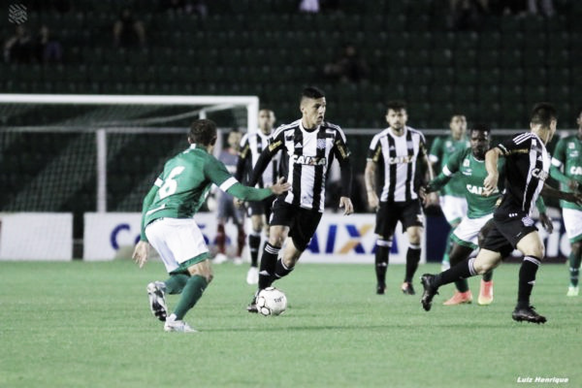 Confiante após classificação na Copa do Brasil, Goiás recebe embalado Figueirense