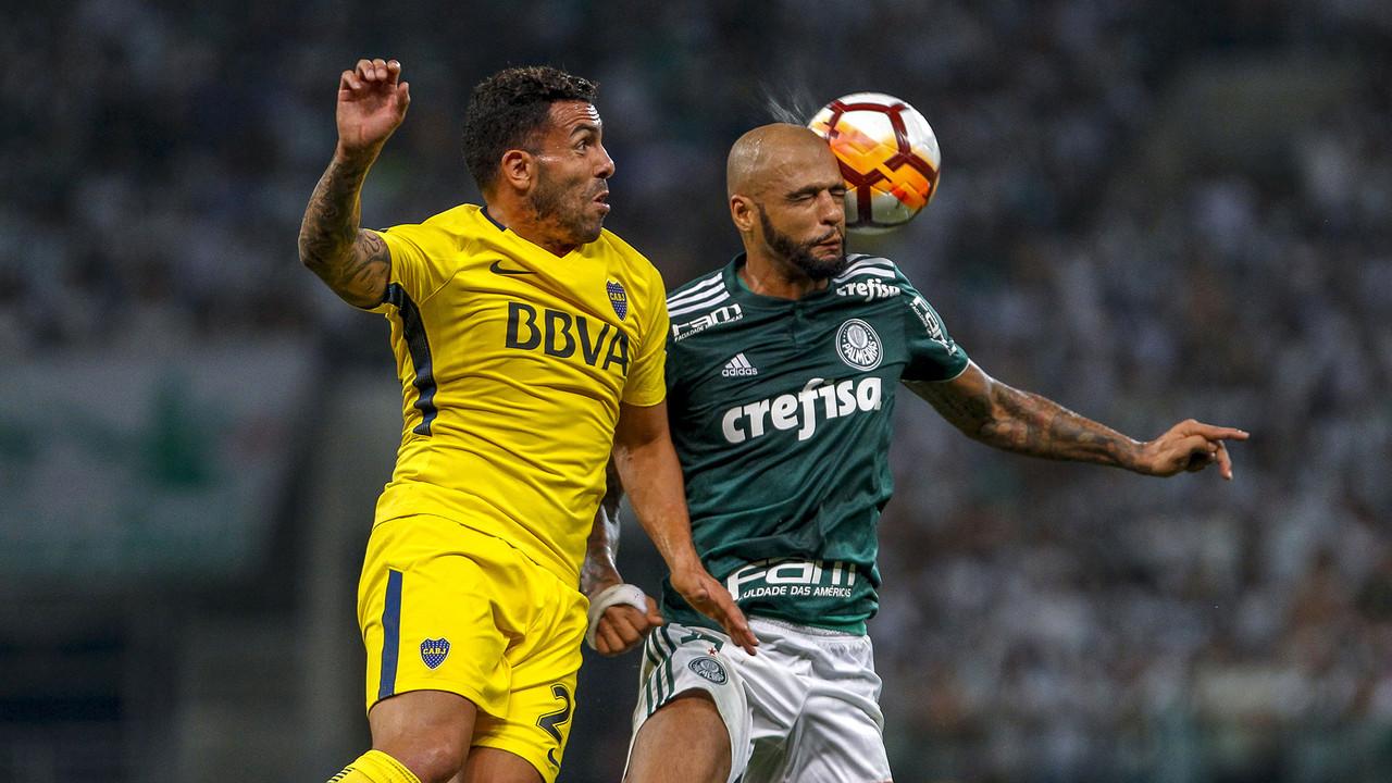 Los últimos enfrentamientos de Boca ante Palmeiras en Brasil