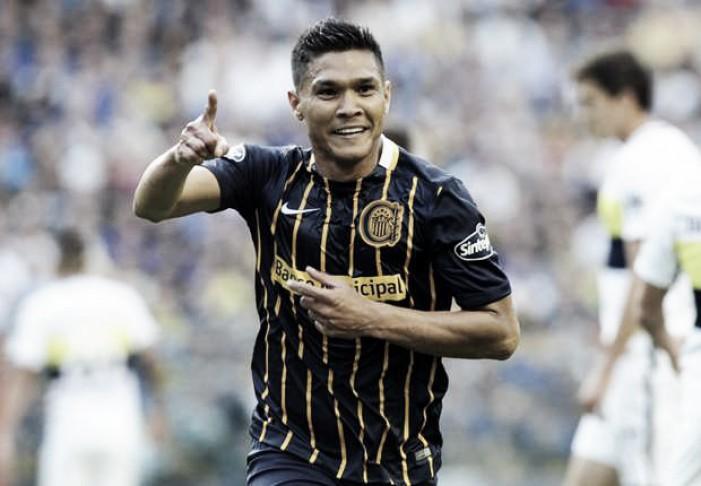 Teo entró en el grupo de los goleadores extranjeros