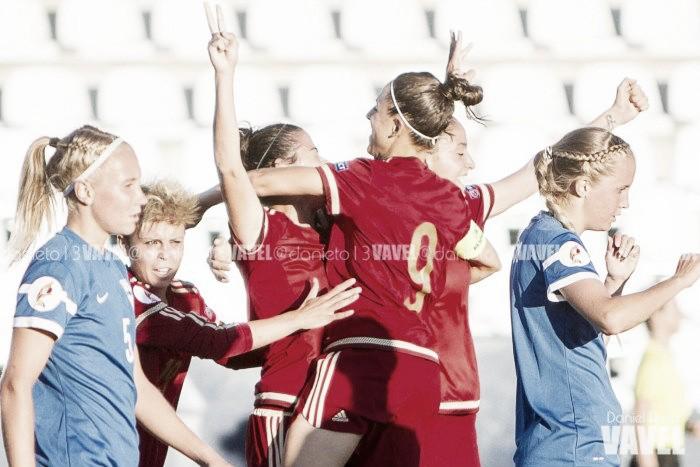 Pleno histórico de la selección española femenina