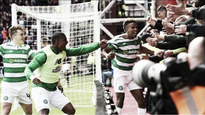 Com gol do estreante Sinclair, Celtic vence Hearts na primeira rodada da Premiership