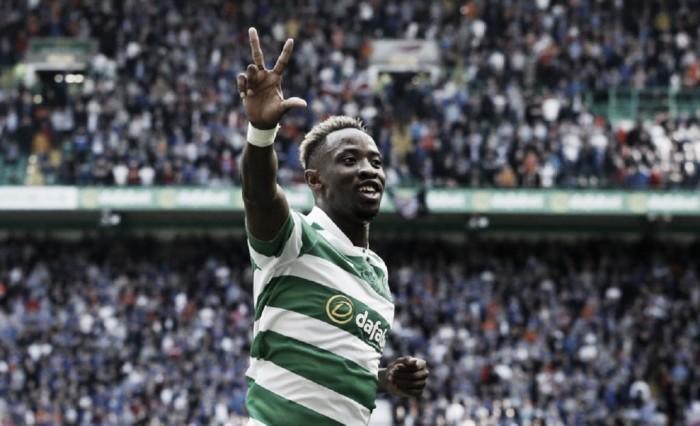 Dembélé brilha, Celtic goleia Rangers e se isola na liderança da Premiership
